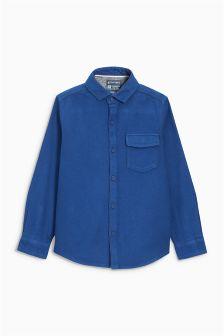 Long Sleeve Textured Shirt (3-16yrs)
