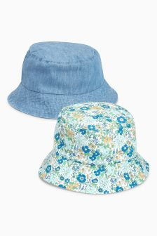 Hats Two Pack (Younger Girls)