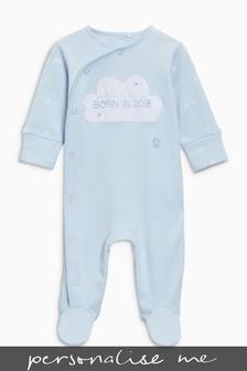 Born In 2018 Sleepsuit (0-9mths)