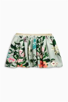 Floral Print Skirt (3mths-6yrs)