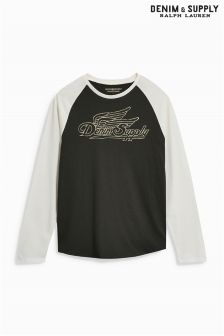 Ralph Lauren Denim & Supply Baseball Top