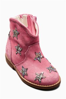 Western Star Boots (Younger Girls)