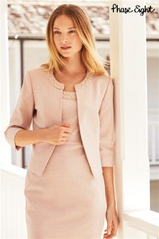 Pink Phase Eight Belle Pearl Jacket
