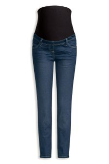 Maternity Skinny Over The Bump Jeans