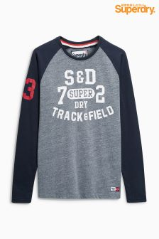 Superdry Baseball Long Sleeve Tee