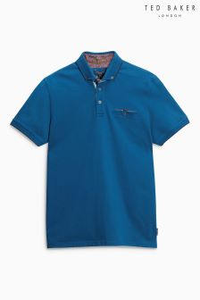 Ted Baker Teal Clay Polo