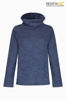 Regatta Blue Marl Cowl Neck Fleece