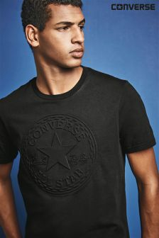 Converse Black Embossed T-Shirt
