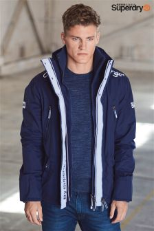 Superdry Navy Windcheater