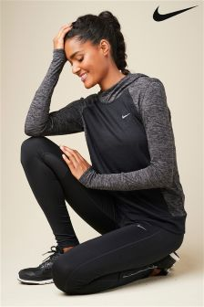 Nike Run Black Shield Tight
