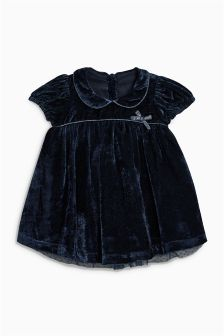 Velvet Dress (0mths-2yrs)