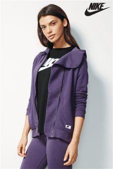 Nike Purple Modern Full Zip Hoody