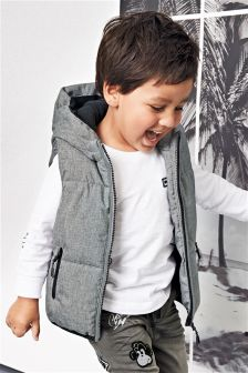 Hooded Gilet (3mths-6yrs)