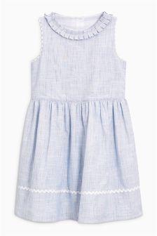 Ruffle Neck Dress (3-12yrs)