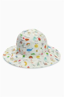 Reversible Sun Hat (Younger Girls)