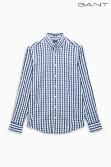Gant Navy Gingham Check Shirt