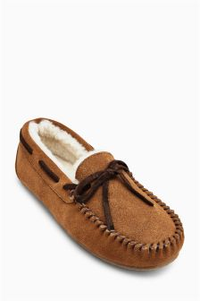 Shearling Slippers (Older Boys)