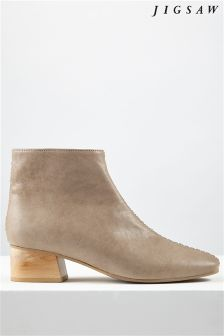Jigsaw Taupe Ankle Boot
