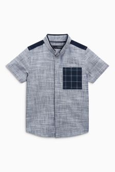 Check Pocket Shirt (3mths-6yrs)