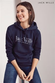 Jack Wills Navy Borrowfield Hoody