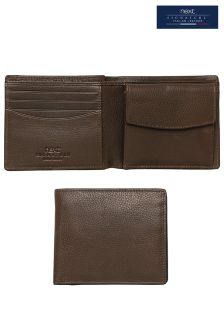 Brown Signature Italian Leather Wallet