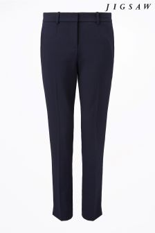 Jigsaw Navy Paris Trouser
