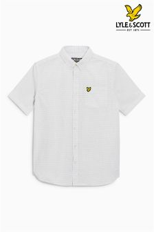 Lyle & Scott White Stitch Shirt
