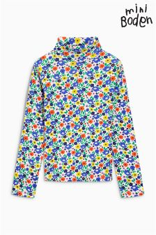 Boden Multi Paintbox Ditsy Cosy Roll Neck