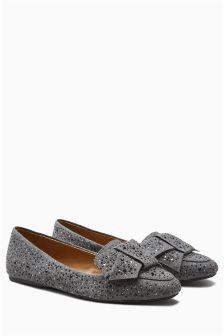 Bow Heatseal Loafers