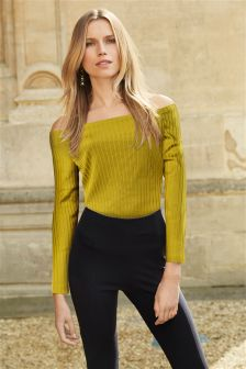 Bardot Long Sleeve Top