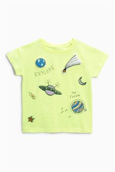 Cosmic All Over Print T-Shirt (3mths-6yrs)