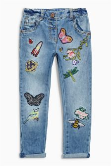 Badge Jeans (3mths-6yrs)