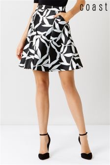Coast Black Maureen Skirt