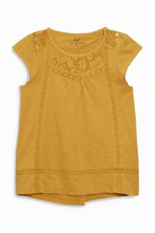 Lace Insert Blouse (3-16yrs)