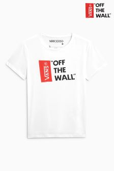 Vans White Anthem Basic Tee