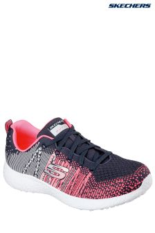 Skechers® Black/Pink Burst Ellipse