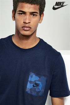 Nike Drop Hem Pocket T-Shirt