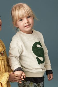 Embellished Crew Neck Top (3mths-6yrs)