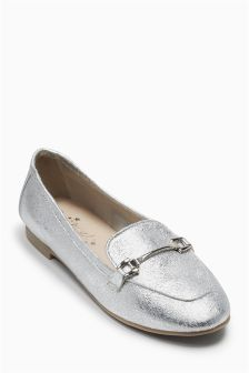 Metallic Loafers (Older Girls)