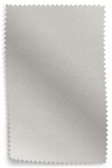 Cotton Blend Mid Silver Fabric Roll
