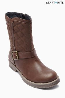 Start-Rite Brown Aqua Jessie Boot