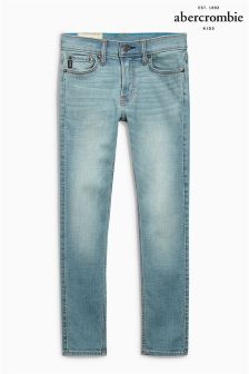 Abercrombie & Fitch Light Wash Super Skinny Jean