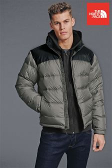 The North Face® Grey Nuptse Jacket 2