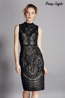 Phase Eight Black Bethan Dress