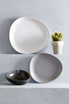 12 Piece Curve Dinner Set