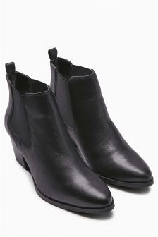 Cuban Chelsea Ankle Boot
