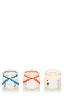 Set Of 3 Fragranced Candles