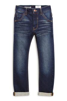 Jersey Look Denim Regular Jeans (3-16yrs)