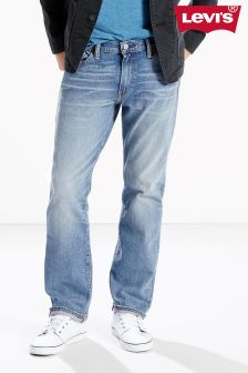Levi's® 504 Regular Straight Fit Jean in Jukebox Wash