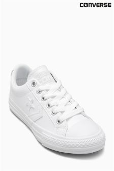Converse White Star Player
